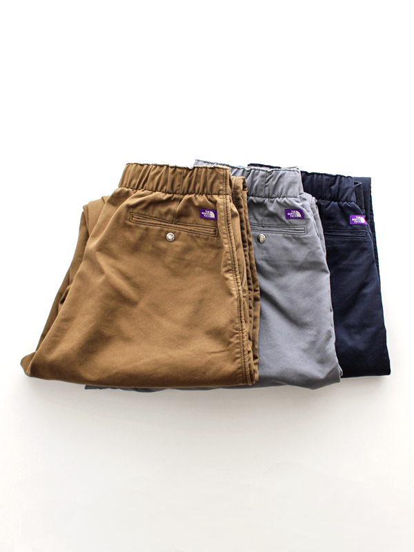 THE NORTH FACE PURPLE LABEL Stretch Twill Shirred Waist Pants