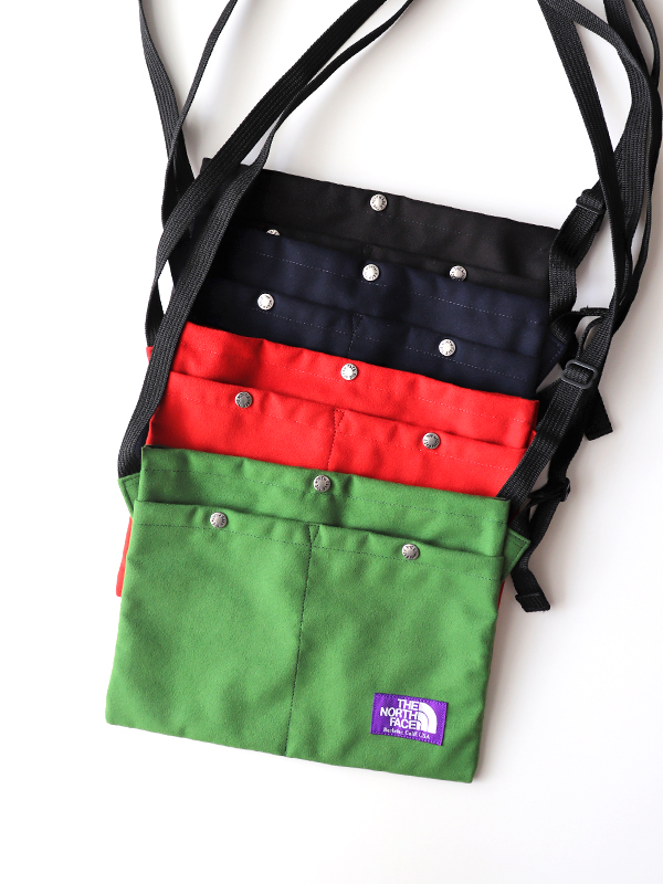 THE NORTH FACE PURPLE LABEL(ザ ノース フェイス パープルレーベル) Suede Shoulder Bag -Small