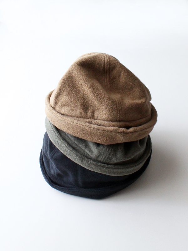 DECHO(デコー)TEXTILE TOQUE HAT -COTTON FREECE