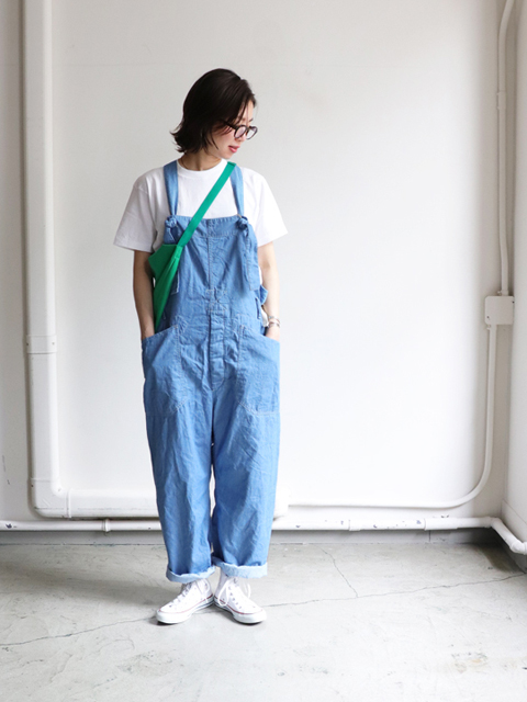 ENGINEERED GARMENTS(エンジニアードガーメンツ) overalls -Lt.weight denim