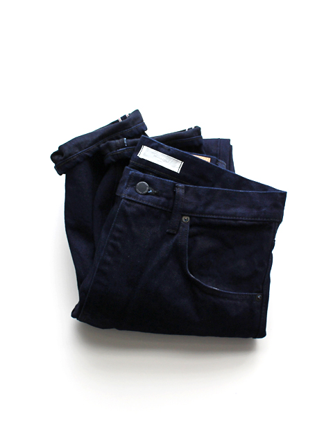 HATSKI(ハツキ) Regular Tapered Denim -Indigo BK