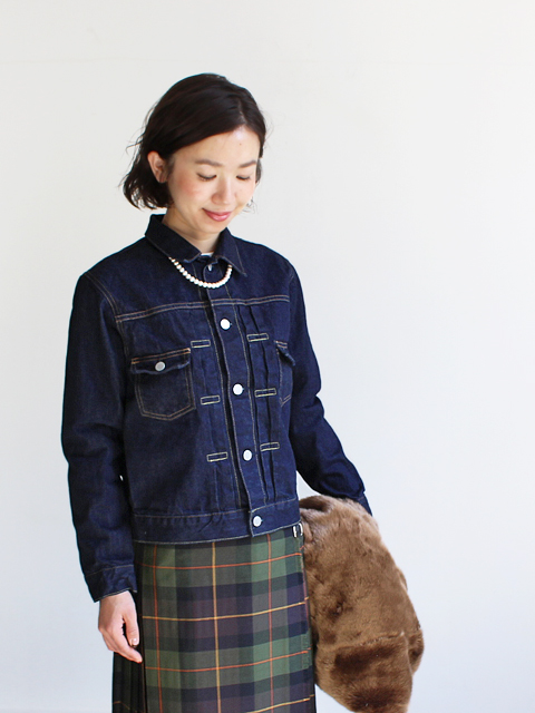 HATSKI(ハツキ) 2Pocket Denim Jacket