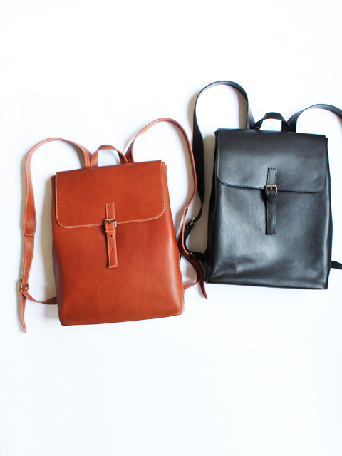 LE_BAS(ルバス) BACK PACK -LEATHER