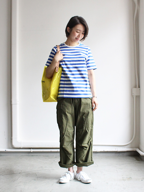 maillot(マイヨ) Border Short Sleeve T-shirt (ボーダー半袖) MAC-003