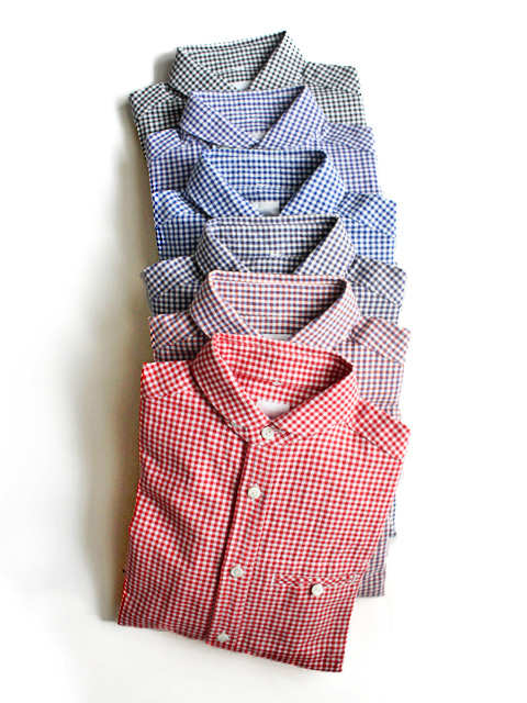 maillot(マイヨ) sunset gingham work shirts (ギンガムワーク) MAS-004