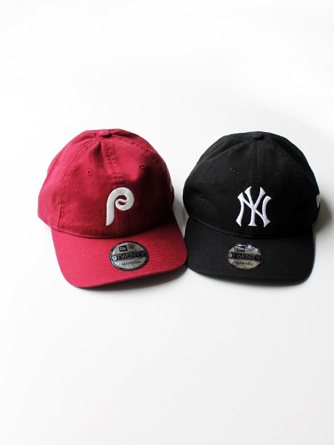 NEW ERA(ニューエラ) 9TWENTY Base Ball Cap Leather Strap