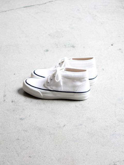 SOLS(ソルズ) The DECK SHOES -White
