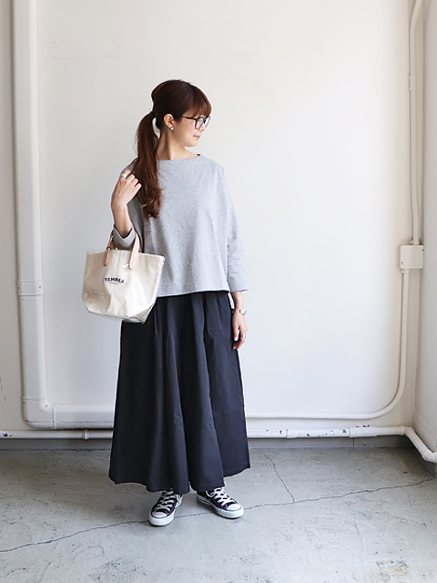 maillot(マイヨ) Heavy Weight Cotton Boat Long Tee (ヘビーウェイトコットンボートロングTee) MAC-17233