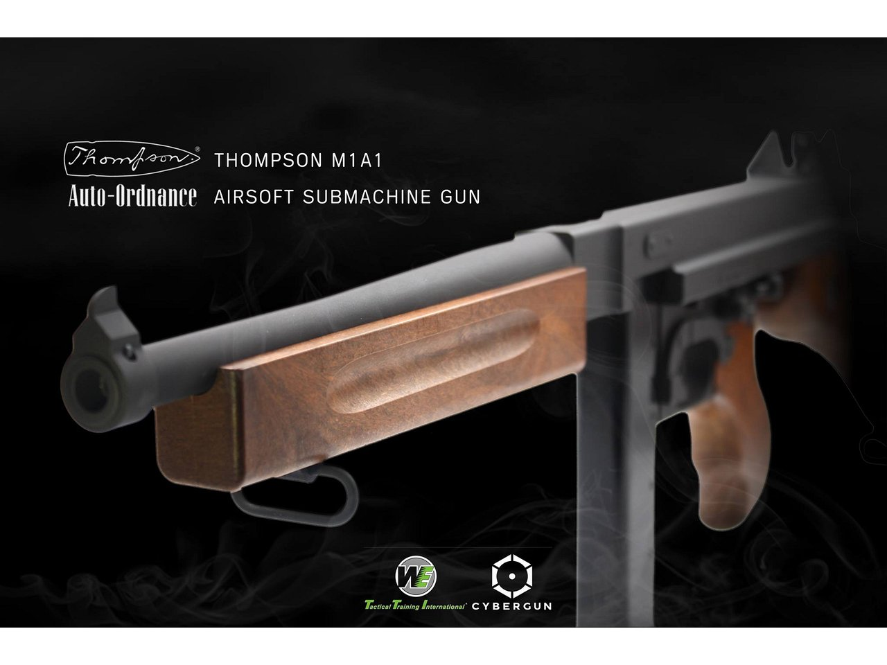 CyberGun Thompson M1A1 GBB (JPversion)