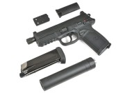 CyberGun FNX-45 Tactical ガスブローバックピストル/DXversionSP1 (BK)