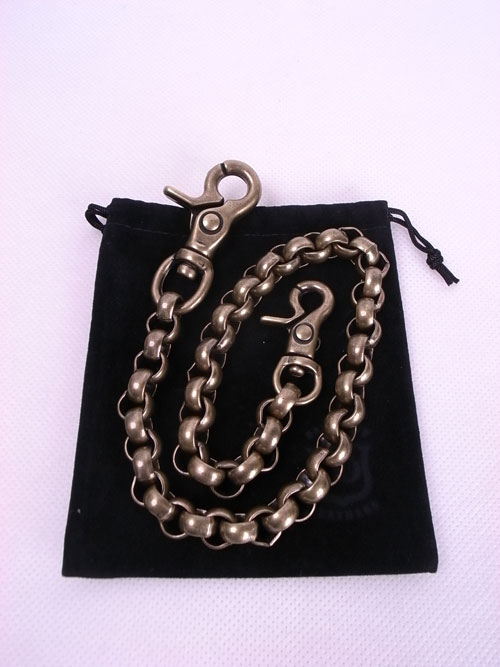Back Drop Leathers/バックドロップレザース WALLET CHAIN