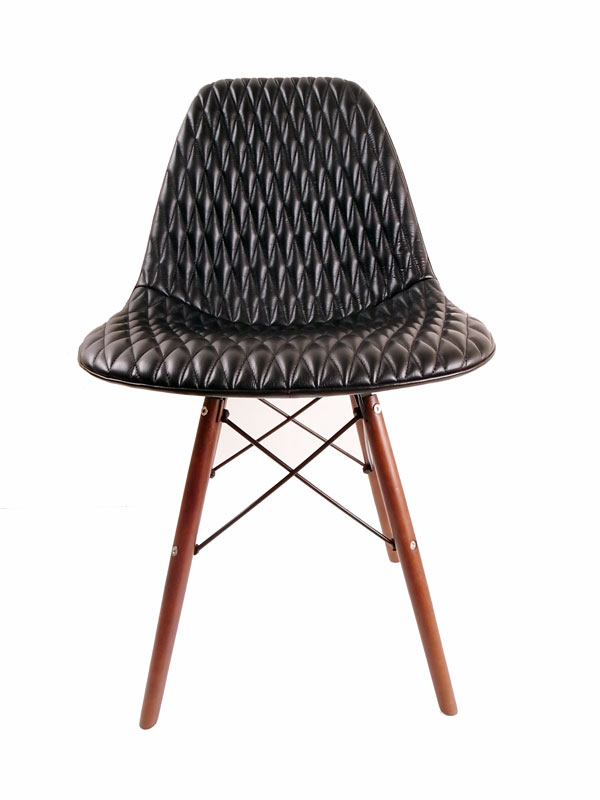 Back Drop Leathers/バック ドロップ SHELL CHAIR