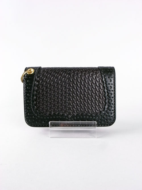 BACK DROP Leathers/バックドロップ BASKET WALLET (S)