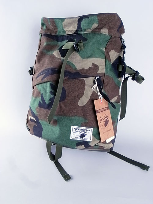ANDFAMILY /アンドファミリー ANGLERS BACKPACK