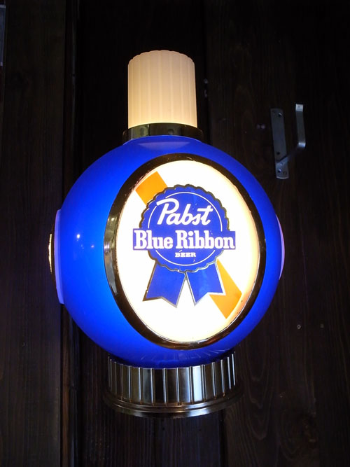 VINTAGE ANTIQUE PABST BEER LAMP  ビンテージ ランプ