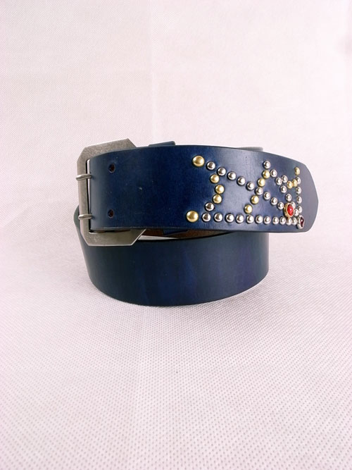 "ANDFAMILY /アンドファミリー Leather Belt ""Spider"""