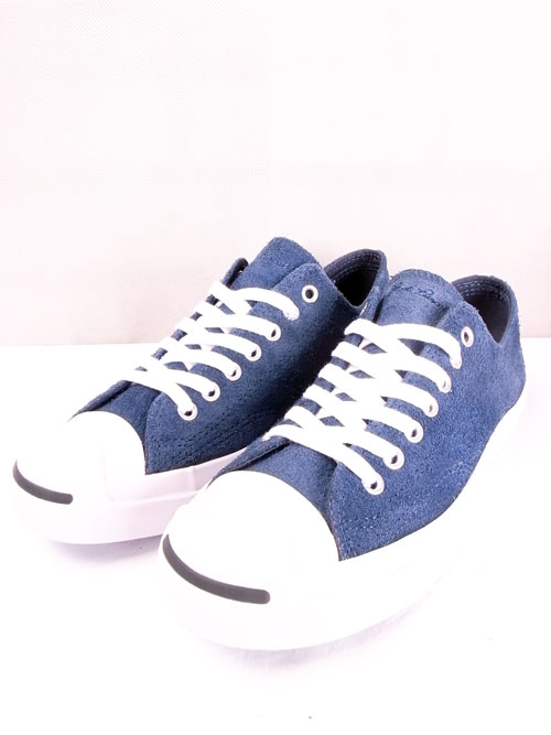 CONVERSE Jack Purcell Suede Ox NAVY