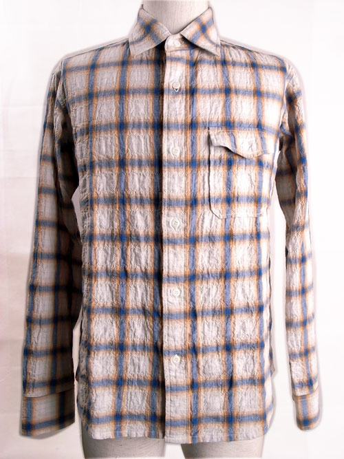 ANDFAMILY /アンドファミリー Shirring Check Shirts