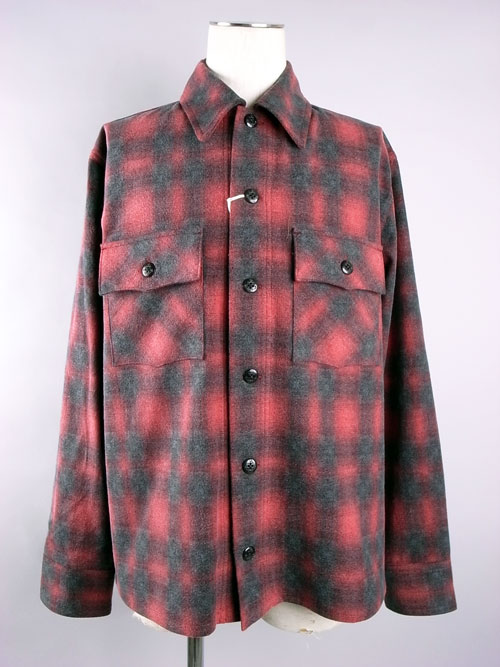 ANDFAMILY/アンドファミリー Ombre Check SH-Jacket