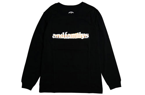 ANDFAMILY /アンドファミリー Standard L/S T-Shirts G.M.T