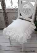 Blanc Mariclo・ブランマリクロ (FulFulシリーズ チェアパッド パンヤ付き) チェアカバー クッション シャビーシック