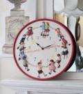 【Country Corner】  フランスらしい温もり有る掛け時計♪ チルドレンクロック 掛け時計 フレンチカントリー 子供部屋