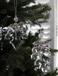 ★SALE★ クリスマスオーナメント♪ (アクリルリーフオーナメント・ストーン2種セット) シャビーシック 北欧 フレンチ