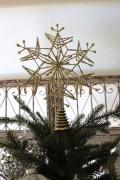★SALE★ クリスマスオーナメント♪ (ツリートップ・スノー 雪の結晶) ツリートップ クリスマスツリー シャビーシック