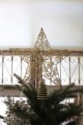 ★SALE★ クリスマスオーナメント♪ (ツリートップ・スター 星) ツリートップ クリスマスツリー シャビーシック 北欧