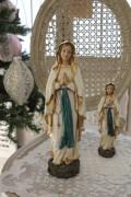 クリスマスオーナメント♪ (ルルドマリアL マリア 置物) シャビーシック フレンチ ロマンティック ヴィクトリアン ク