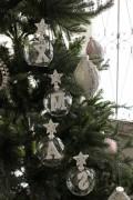 ★SALE★ クリスマスオーナメント♪ (ハンギングX'masグラスセット) クリスマスツリー シャビーシック 北欧 フレンチ