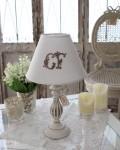 【COMPTOIR DE FAMILLE】 コントワールドゥファミーユ 卓上ランプ テーブルランプ ホワイトスタンド×CFホワイトシェード