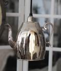 シルバーティーポットランプA(763000) スポットライト・ペンダントライト・シャンデリア 天井照明 40W×1灯 LED対応