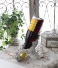 フレンチクラシックなワインホルダー(横) ボトルホルダー ワインラック オブジェ シャビーシック アンティーク 雑貨 アン