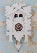 ドイツ製 鳩時計 ハト時計 ホワイト Mサイズ 掛け時計 TRENKLE UHREN トレンクル・ウーレン社 フレンチカントリー french countr