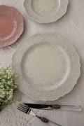 【La Ceramica V.B.C ラ・セラミカ イタリア】 ディナー皿(022) ディナープレート イタリア製 輸入食器 シャビーシック