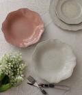 【La Ceramica V.B.C ラ・セラミカ イタリア】 スープ皿(050・051) スーププレート イタリア製 輸入食器 シャビーシッ