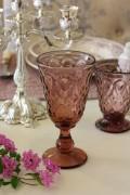 【La Rochere】 フランス ラロシェール社製 エレガントに輝くワイングラス230cc リヨネ(パープル) ウォーターグラス ガ