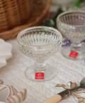 【La Rochere】 フランス ラロシェール社製 エレガントに輝くクープ【カナリー・130cc】 デザート皿 デザートカップ ア