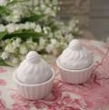 フランスからカップケーキ型の可愛い陶器小物入れ 【SOPAFRA】 フレンチ雑貨 収納BOX フレンチカントリー アンテ