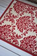 フランス ラグマット SERGE LESAGE (セルジュ ルサージュ)社 SULTANE(ROUGE)140×200 フランス製 カーペット 絨毯 ス