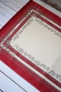 フランス ラグマット SERGE LESAGE (セルジュ ルサージュ)社 SATINE(ROUGE) 140×200 フランス製 カーペット 絨毯 ス