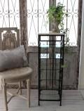 アイアン&大理石のスリッパラック 花台 スリッパ置き スリッパ立て アイアン製 輸入雑貨 フレンチシック アイアン製品