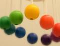 ケルンボール 〜虹色のやさしい色彩が、赤ちゃんの心に語りかけます〜