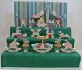 円武者三段飾り,小黒三郎,遊プラン,組み木,五月人形