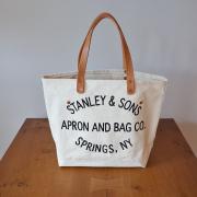 STANLEY & SANS 【スタンレーアンドサンズ】 スモールサークルロゴトート