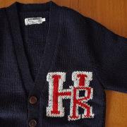 HOLLYWOOD RANCH MARKET 【ハリウッドランチマーケット】 ピュアウールHRカーデガン