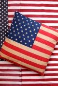 星条旗クッション アメリカクッション USA アメリカ雑貨屋 サンブリッヂ