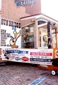 ベイシャークスバナー BAYSHARKS アメリカンバナー アメリカ雑貨屋 サンブリッヂ