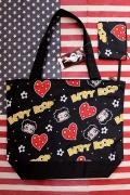 ベティトートバッグ ショッピングバッグ BETTYBOOP公式ライセンスグッツ アメリカ雑貨屋 サンブリッヂ